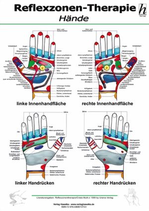 Handreflexzonen Mini-Poster